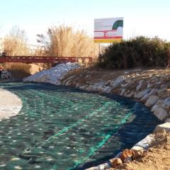 Riera de St. Cugat - mantes orgàniques de protecció