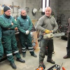 Sessió pràctica motoserra - Francesc Balanzó
