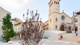 Plaça de l'Església del Papiol